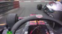 Afbeelding: KIJKEN: Verstappen probeert inhaalactie op Lewis Hamilton voor P1 in Monaco