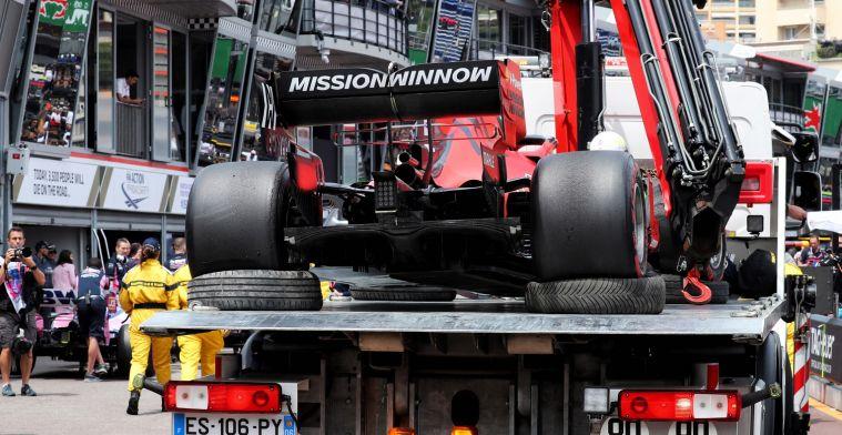 Red Bull legt schuld van tijdstraf in Monaco bij pitbox: Je ziet niks