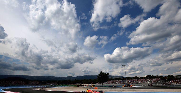 Max Verstappen woensdag weer in actie op Paul Ricard voor Pirelli-tests