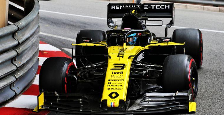 Renault maakte strategische misser volgens Ricciardo