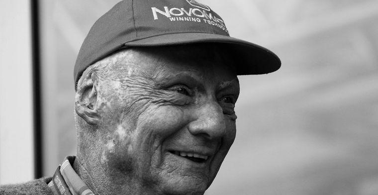 Formule 1 biedt laatste eer aan op uitvaart Niki Lauda
