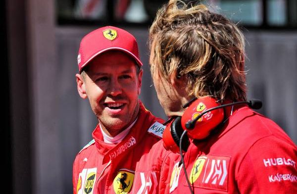 Vettel claims Ferrari are in a good situation despite Alonso replacement rumour