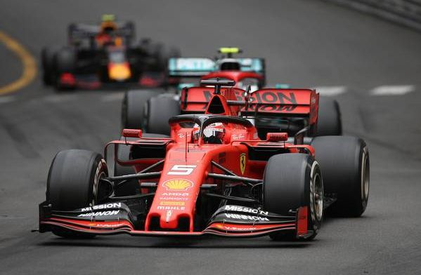 Mercedes - Ferrari had 0.6s speed advantage on the straights