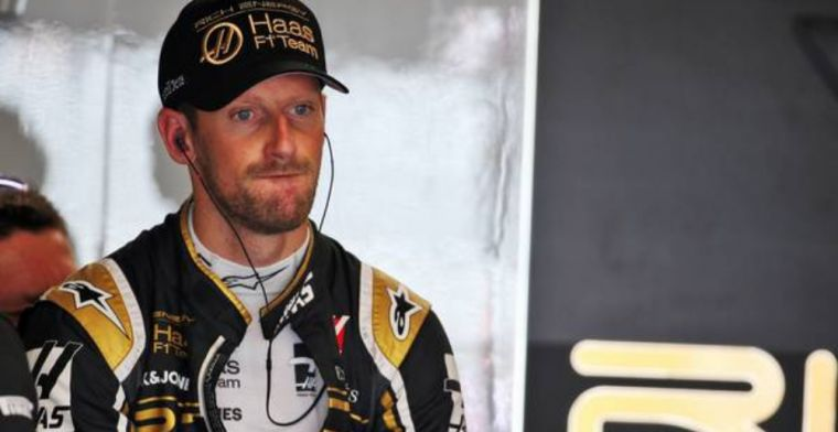 Unlucky Grosjean disappointed after Magnussen crash costs him