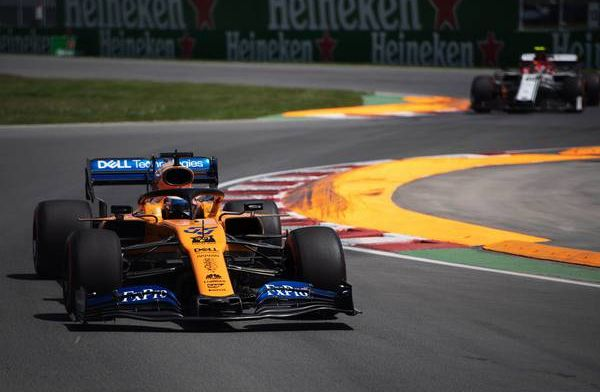 Sainz receives three-place grid penalty for blocking Albon