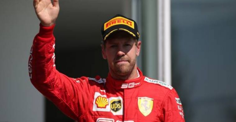 Vettel asks fans not to boo Hamilton after Canadian Grand Prix
