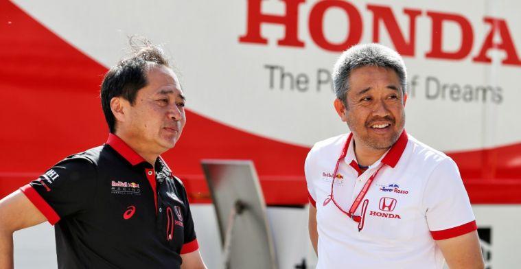 Lijkt er sterk op dat Honda ook na 2020 graag met Red Bull en Verstappen door wil