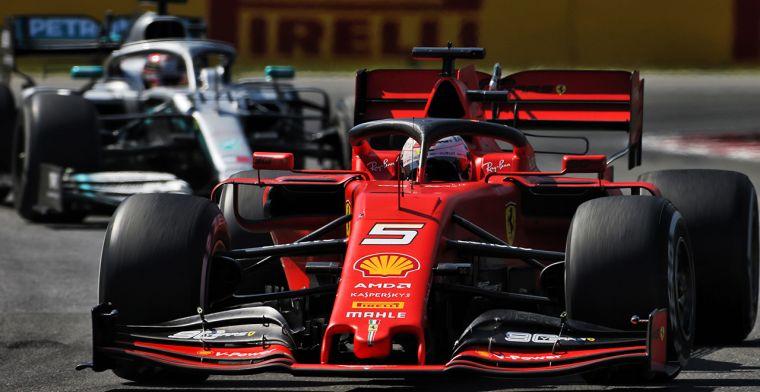 Tweede stuurbeweging van Vettel aanleiding tot tijdstraf