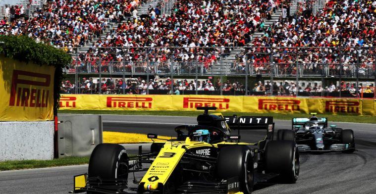 Ricciardo had na Bottas ook graag Verstappen dwars willen zitten