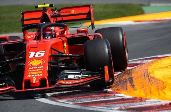 Ferrari didn't tell Charles Leclerc about Sebastian Vettel's penalty