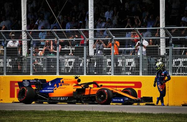 McLaren to investigate Norris' freak suspension failure
