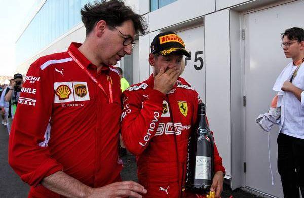 Ferrari gaat mee in 'kinderachtig gedrag' van Sebastian Vettel