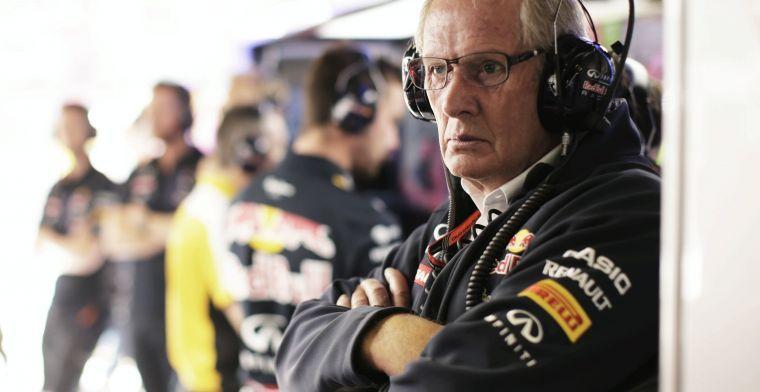 Helmut Marko: Begint op te vallen dat beslissingen in voordeel van Mercedes zijn