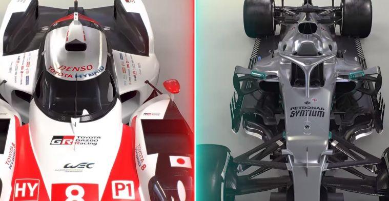 KIJKEN: Het verschil tussen de LMP1 en een Formule 1-auto