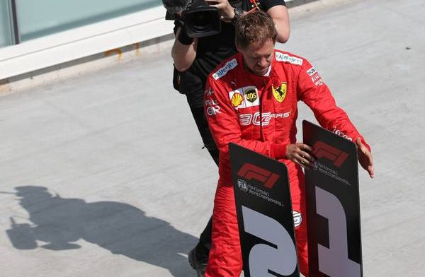 Stewards could've penalised Vettel extra for switching signs but opted not to