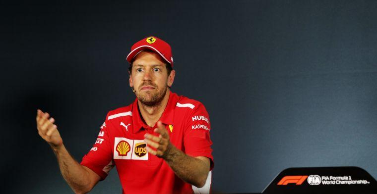 Stewards zagen Vettel bordjes wisselen: Maar dat bestraffen, leek niet handig