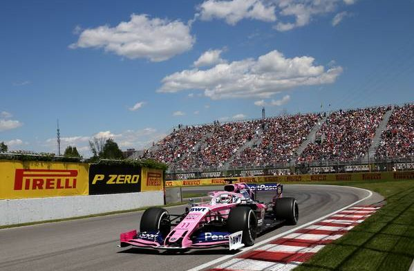 Perez not fussed about split strategy used by Racing Point in Canada