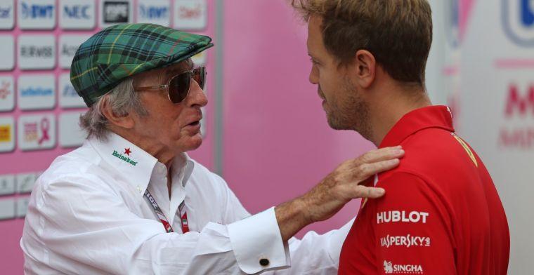 Door gevaar haalden coureurs volgens Jackie Stewart geen smerige acties uit