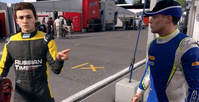 Eerste beelden van F1 2019 verhaalmodus: Rivalen zetten de toon in nieuwe carrière