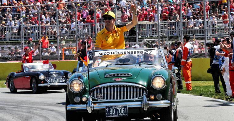 Hulkenberg over startnummer 27: Geen idee dat die van Gilles Villeneuve was
