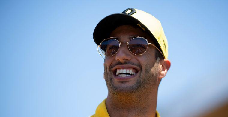 Daniel Ricciardo: Hopelijk kan het team trots op mij zijn na deze Grand Prix