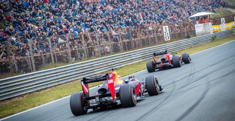 Zo zullen de tribunes worden opgesteld voor GP Nederland 2020
