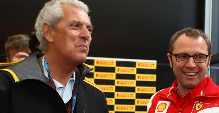 Pirelli-topman spreekt voorkeur uit voor Ferrari: Winst voor hen is goed voor F1