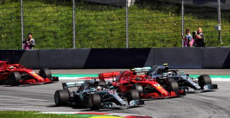 Mercedes to take aggressive tyre choice to Austria, Ferrari play it safe