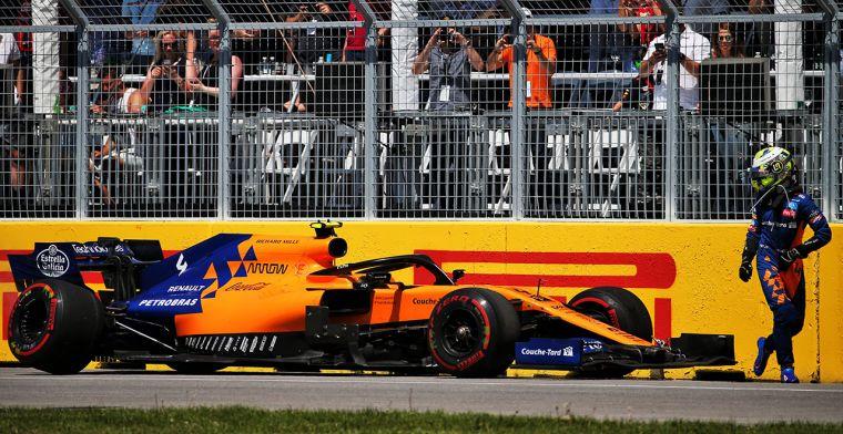 McLaren ontdekt Norris' probleem in Canada