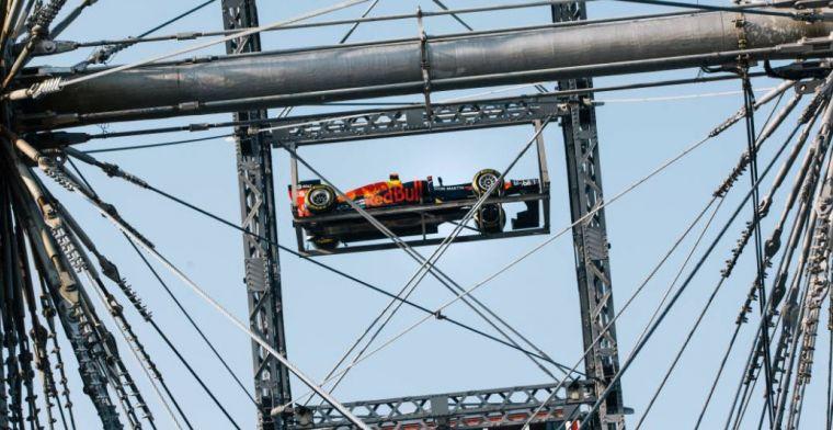 Wie durft in het Red Bull-reuzenrad?