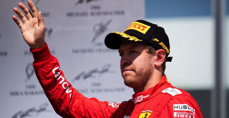 Als Vettel niet voor Ferrari reed, had niemand zich druk gemaakt over die straf
