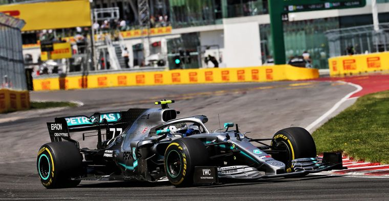 Bottas: 'W10 is de beste auto van Mercedes-era'