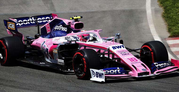 Stroll loopt risico op gridstraf dankzij Mercedes