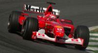 Afbeelding: Koopje! Schumachers kampioensauto onder de hamer