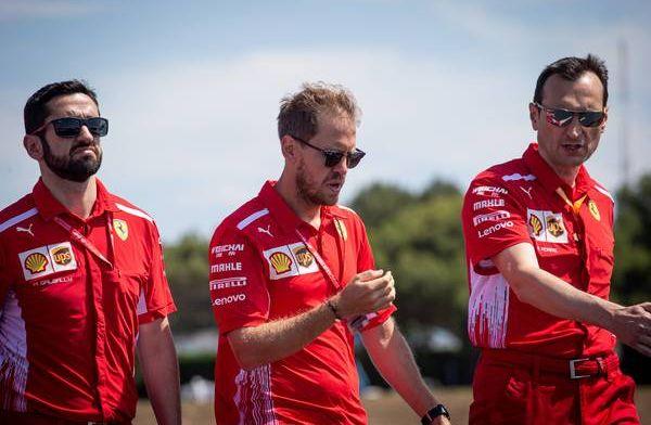 Sebastian Vettel getrouwd tussen GP Canada en Frankrijk door