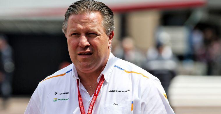 175 miljoen budgetcap per jaar 'toch aan de hoge kant' voor McLaren-CEO Zak Brown