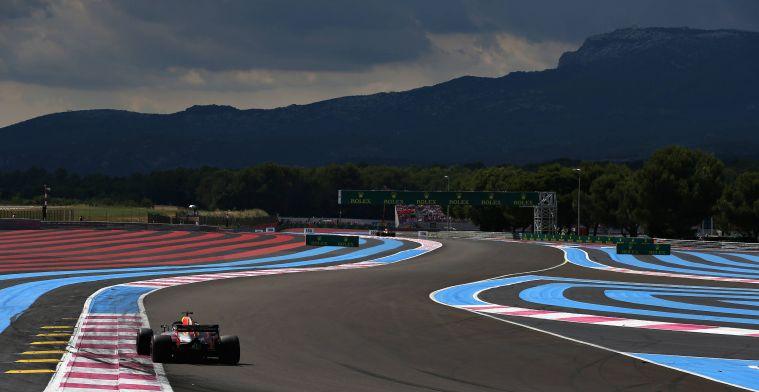 Weerupdate Grand Prix van Frankrijk: Zon, wind en warm asfalt!
