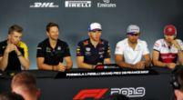 Afbeelding: Coureurs reageren bij persconferentie op tijdstraf Vettel