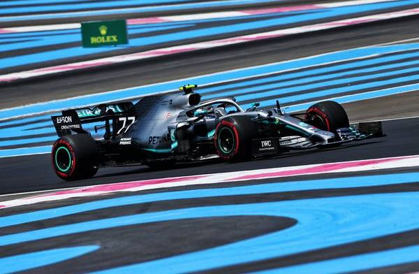Bottas eyeing race start after missing out on pole