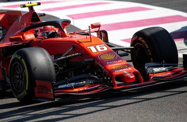 Leclerc feeling good ahead of qualifying despite gap to Mercedes