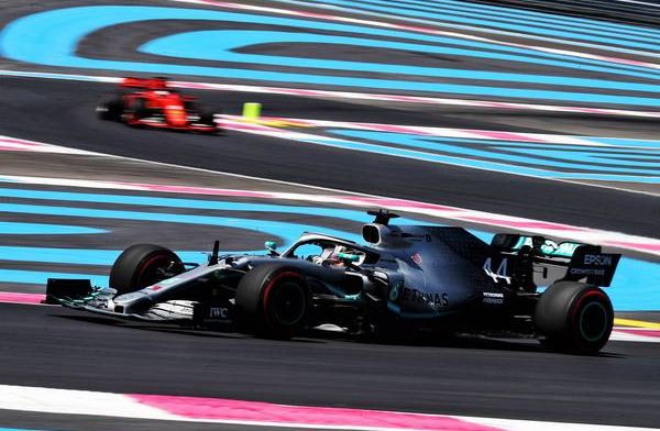 Lewis Hamilton gets 60th pole for Mercedes in France, Vettel seventh!