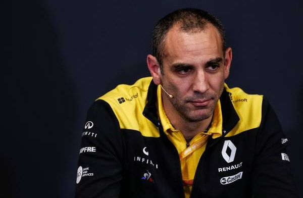 Abiteboul is looking at his options for 2020 driver lineup