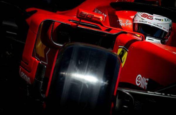 Vettel: Volgens mij heeft Hamilton grootste gedeelte van de race zitten cruisen