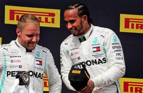 Bottas knows he must work hard to end Hamilton's winning streak
