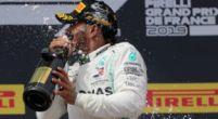 Afbeelding: Lewis Hamilton niet eens met de tijdstraf voor Ricciardo in Frankrijk