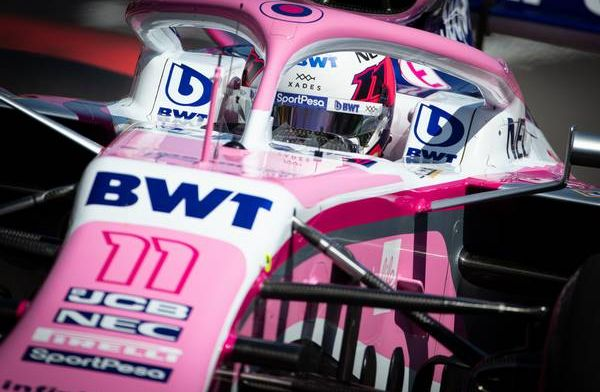 Perez is confused why he was penalised in France