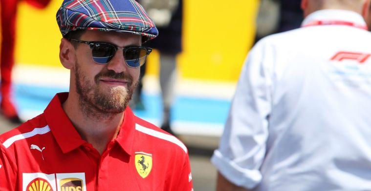 Vettel: Ik ben niet gefrustreerd