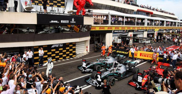 'Het is aan de Formule 1 teams de taak om het Mercedes lastig te maken'