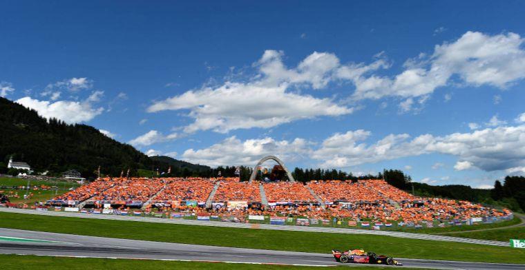 Weerupdate GP Oostenrijk: Hoge bandenslijtage door hoge temperaturen?