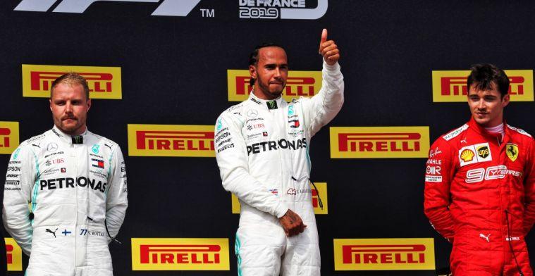 Verstappen verliest leiding Power Rankings aan Lewis Hamilton